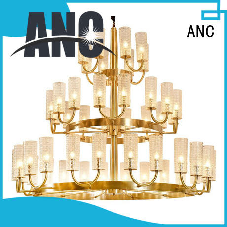 Quality ANC Brand decoration chandelier classic gold