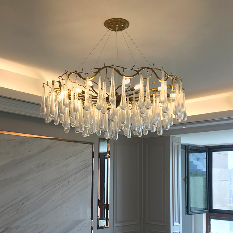 ANC-Professional Glass Chandelier Custom Made Chandeliers Supplier-3