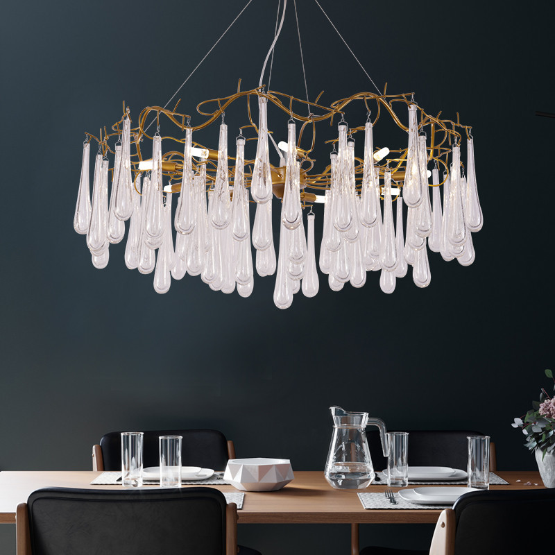 ANC-Professional Glass Chandelier Custom Made Chandeliers Supplier-4