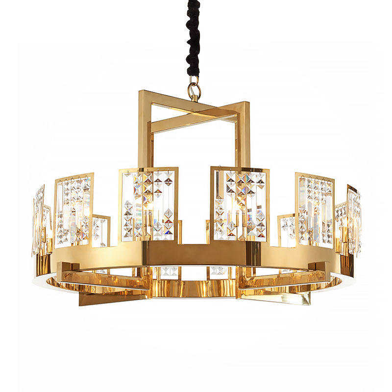 Creative minimalist Nordic style dining room living room lamp bedroom crystal lamp modern lamp