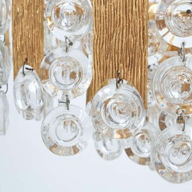 ANC-High-quality Crystal Chandelier | Nordic Style Villa Living Room Lamp-1