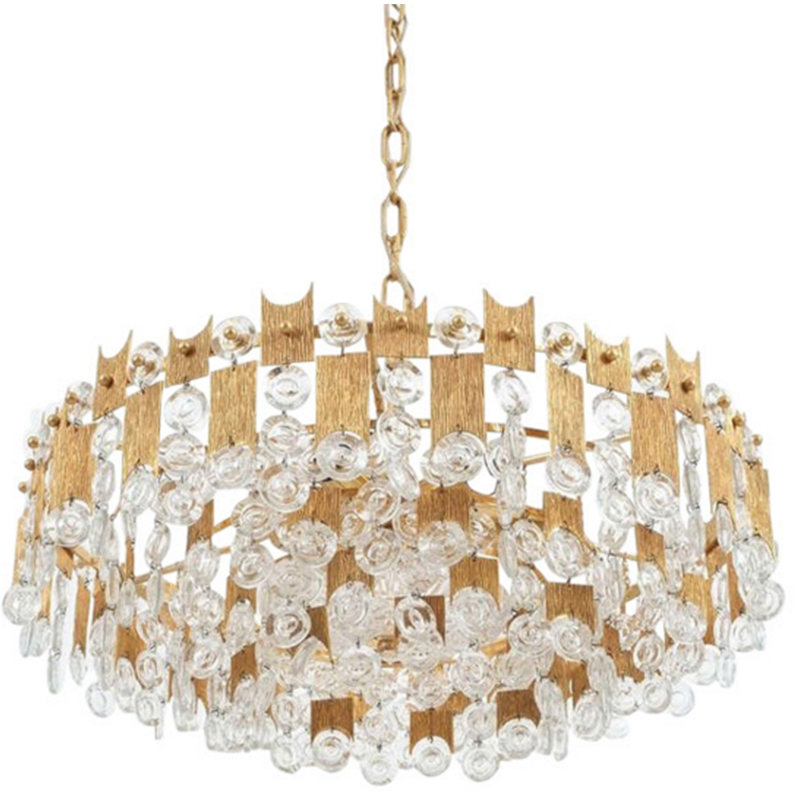 ANC-High-quality Crystal Chandelier | Nordic Style Villa Living Room Lamp-4
