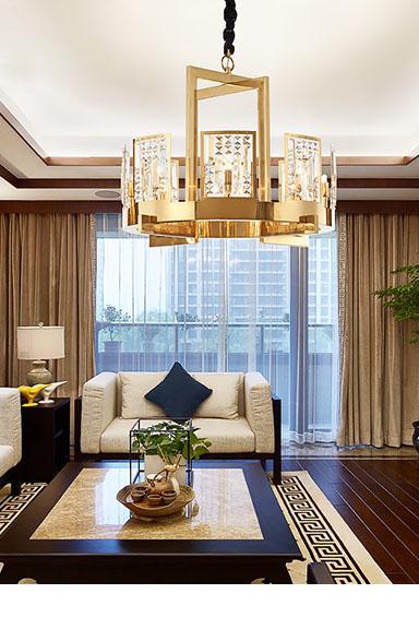 ANC-Creative Minimalist Nordic Style Living Room Art Deco Chandelier