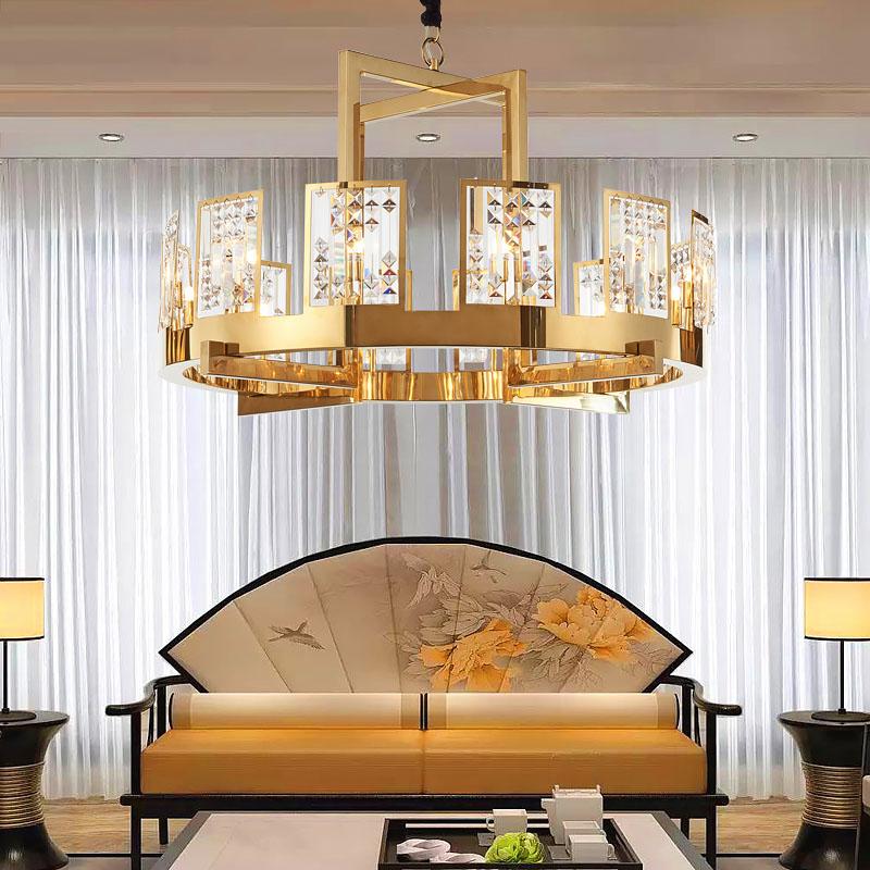 ANC-Creative Minimalist Nordic Style Living Room Art Deco Chandelier-3