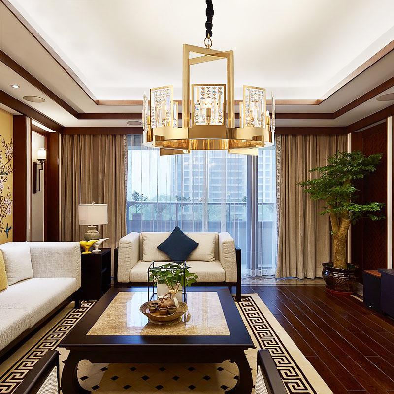 ANC-Creative Minimalist Nordic Style Living Room Art Deco Chandelier-4