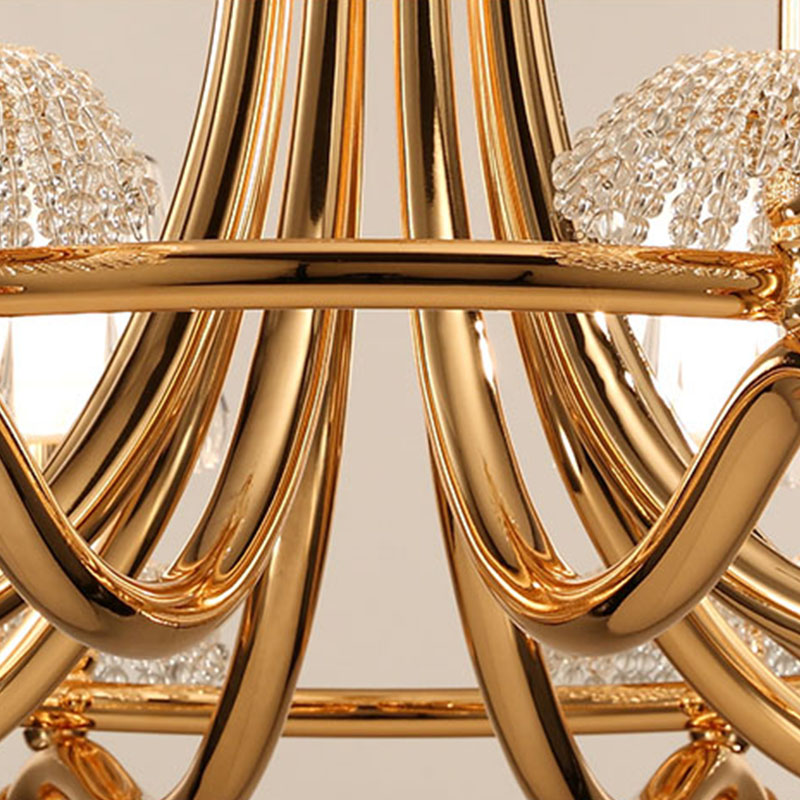 ANC-Linear Chandelier | Creative Personality Crystal Restaurant Lamp-1