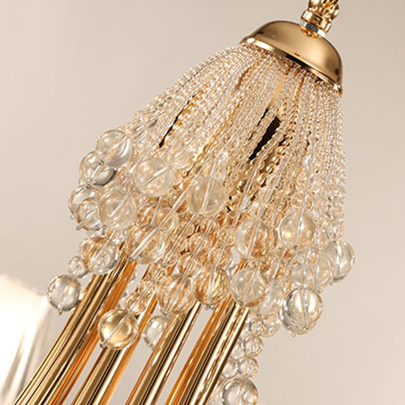 ANC-Linear Chandelier | Creative Personality Crystal Restaurant Lamp-2