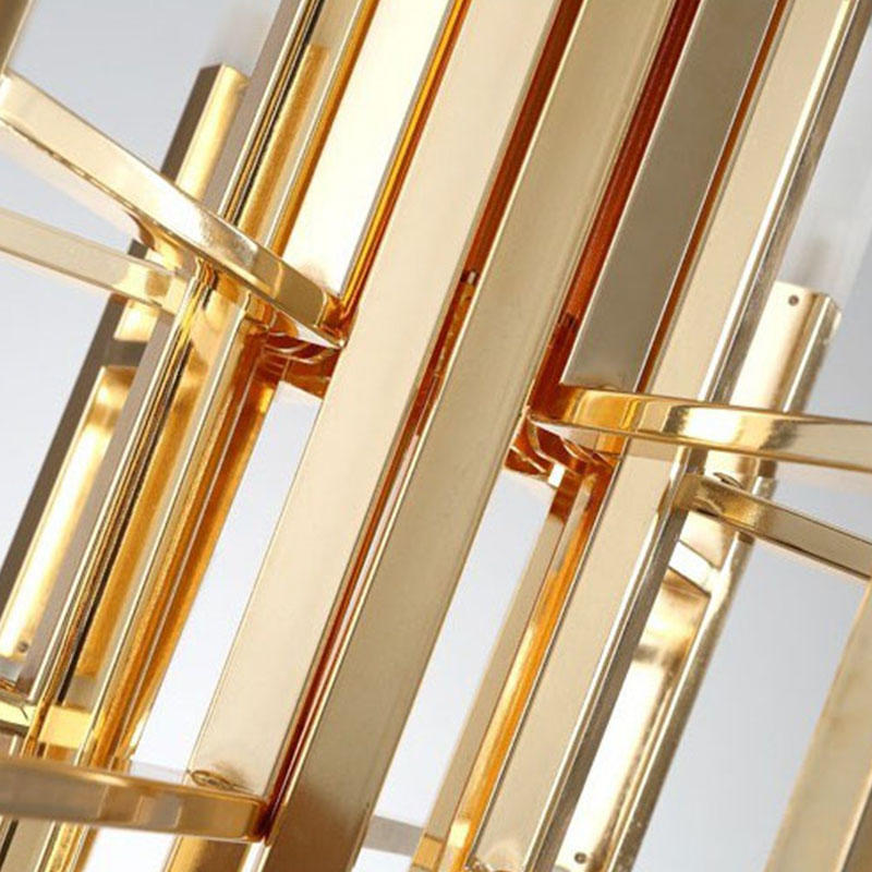 Postmodern lamp American style simple acrylic chandelier