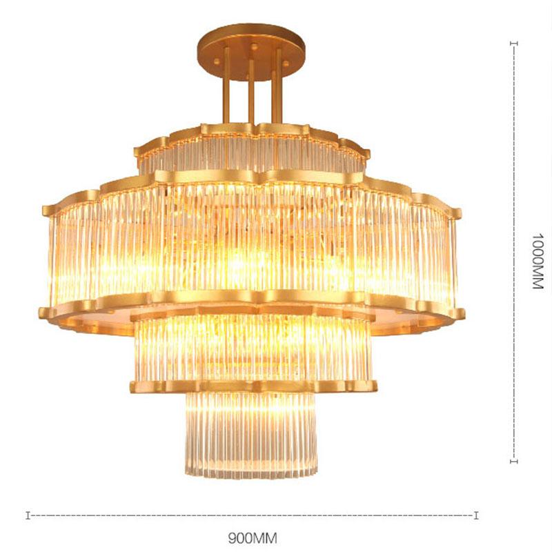 ANC-High-quality Chandelier | Modern Flower-shaped European Hotel Lamp-3