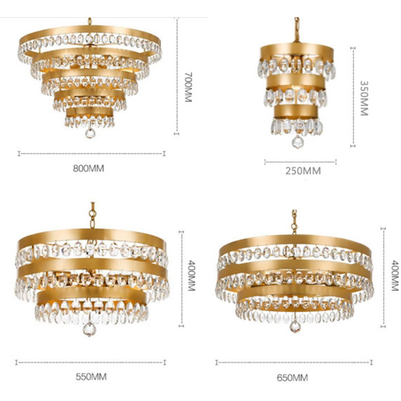 ANC-Find Lampshade Chandelier Restaurant Chandelier From Anc Lighting-3