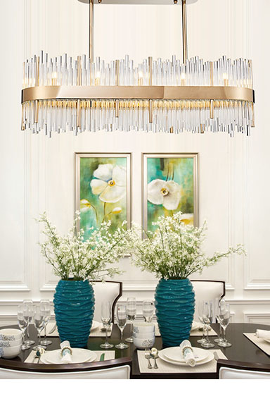 ANC-Find Lobby Chandeliers Lampshade Chandelier From Anc Lighting