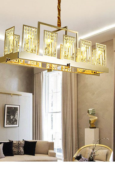 ANC-Manufacturer Of Crystal Chandelier Mirror Stainless Steel G9 Light