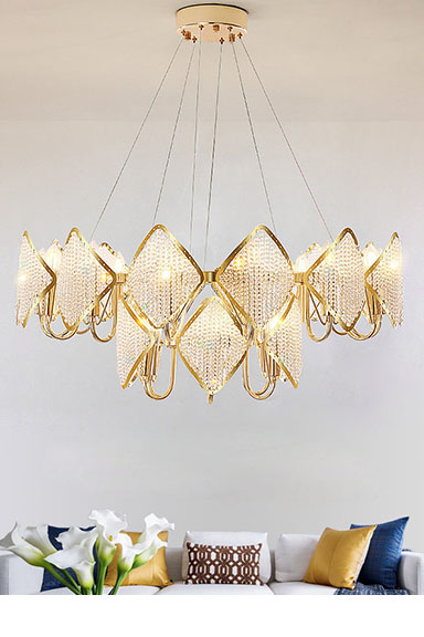 ANC-Best Creative Chandelier K9 Crystal Diamond Crystal Beads Fashion