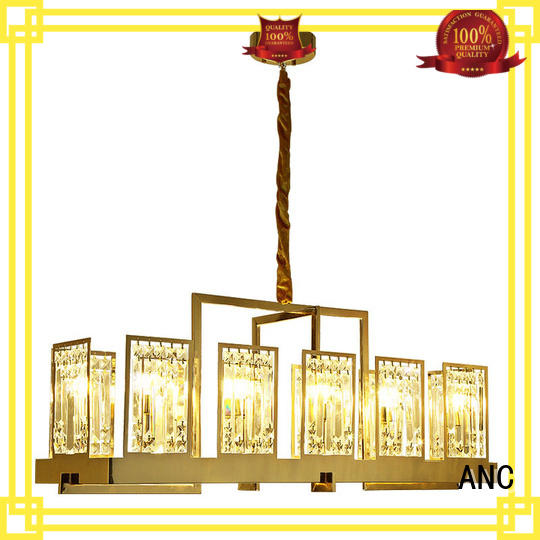 ANC useful rectangular chandelier dining room package food Truck