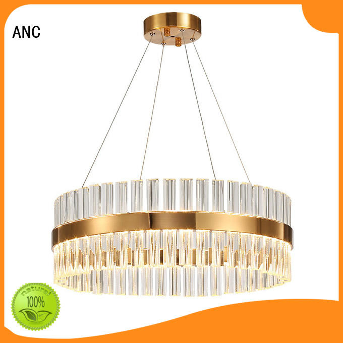 oval decoration chandelier gold classic ANC Brand