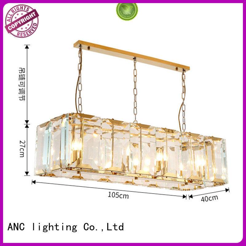 doublelayer round chandelier gold kitchen ANC