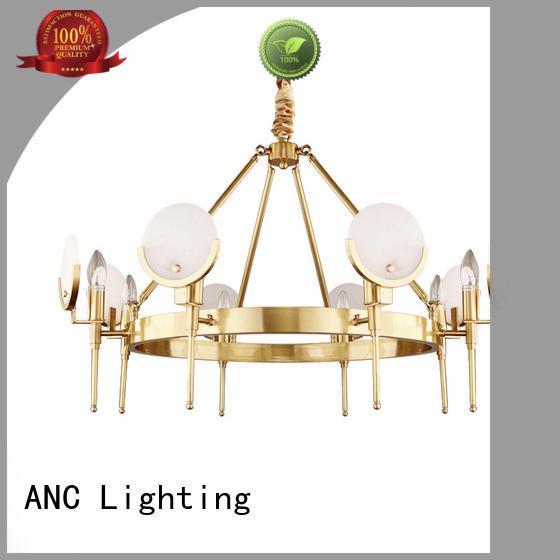 ANC jake large crystal chandelier kitchen