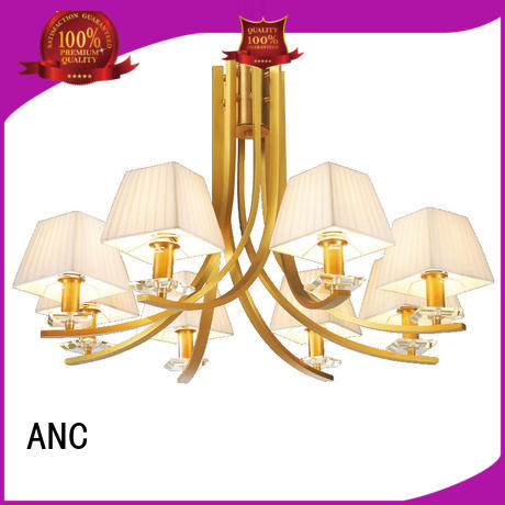 ANC lampshade dining chandelier package manager room