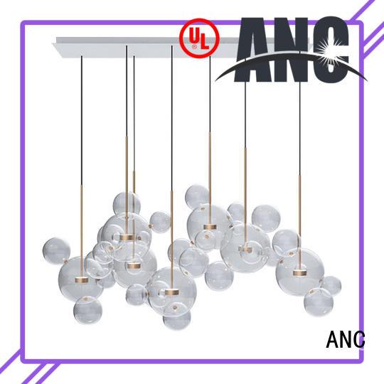 crystal pendant lighting bar electrical room ANC