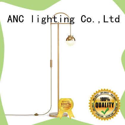 ANC deevy gold floor lamp calibration arterial