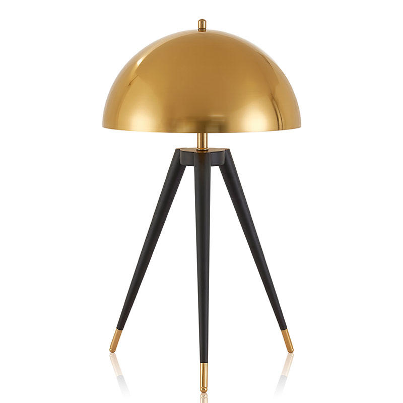 Postmodern minimalist golden ball table lamp
