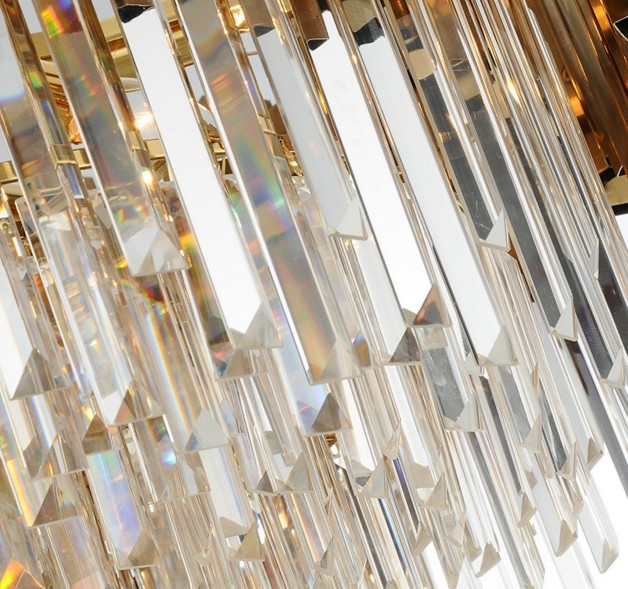 ANC-Linear Chandelier | Luxury Modern Light Round Hotel Chandeliers-5