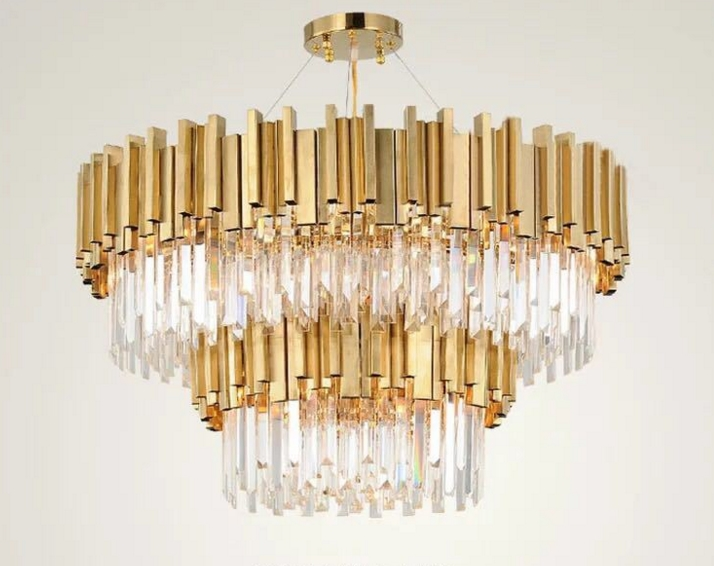 ANC-Quality Linear Chandelier | 4-layer Modern Indoor Lighting Chandeliers-1