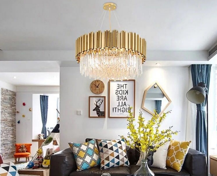 ANC-Quality Linear Chandelier | 4-layer Modern Indoor Lighting Chandeliers-2
