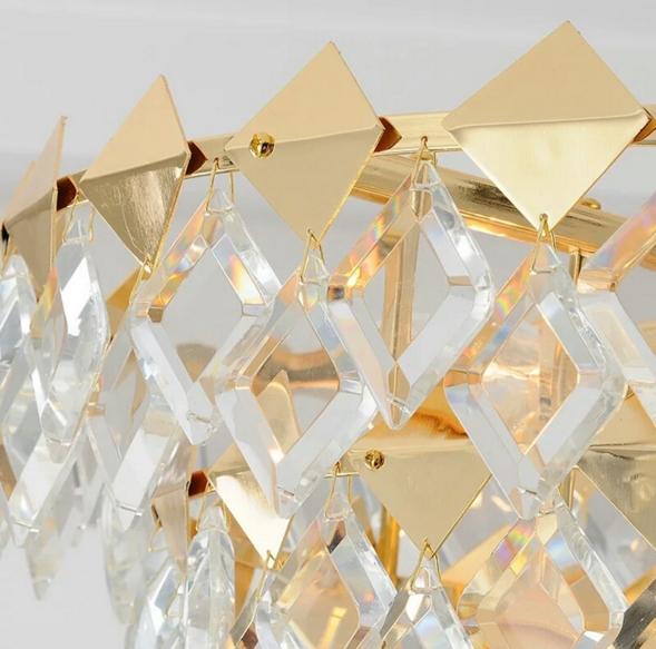 ANC-Modern Chandeliers Diamond-shaped Indoor Lighting Chandeliers-3