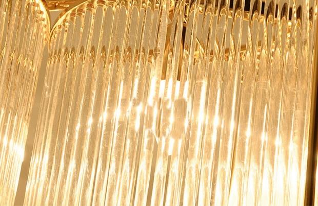 ANC-Modern Dining Room Chandeliers | Leaf Shape Crystal Chandelier-6
