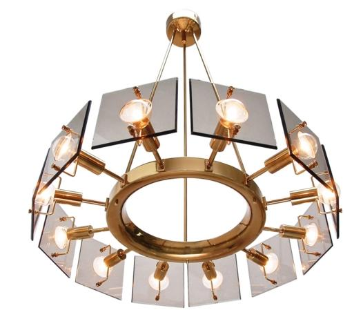 Items Similar to Twelve-Light Italian Chandelier by Cristal Art