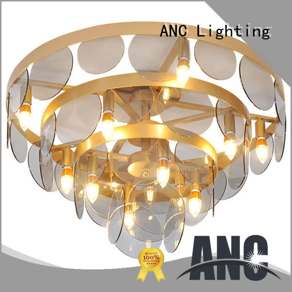 round glass ceiling lamp steady lift-motor room
