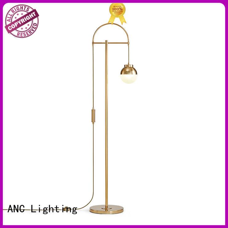 ANC superb gold floor lamp minimalist alley