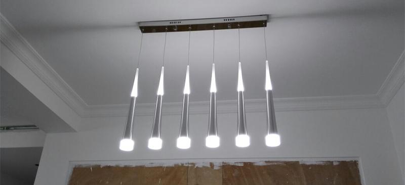 ANC-Crystal Pendant Lighting Rain Drop Pendant Stair Bar Droplight-3