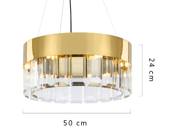 ANC-Crystal Chandelier Minimalist Nordic personality chandelier-1