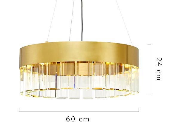 ANC-Crystal Chandelier Minimalist Nordic personality chandelier