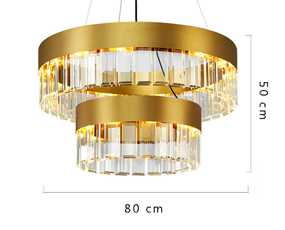 ANC-Crystal Chandelier Minimalist Nordic personality chandelier-3
