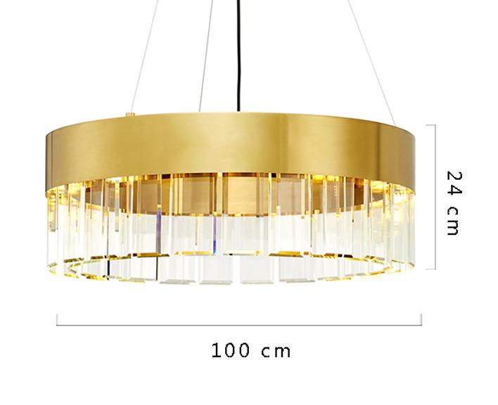 ANC-Crystal Chandelier Minimalist Nordic personality chandelier-4