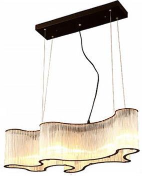 Villa Hotel Engineering Art Glass Pendant Chandelier