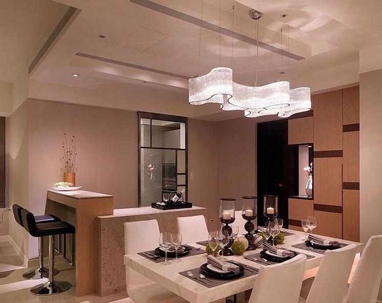 ANC-Modern Chandeliers   Hotel Engineering Glass Pendant Chandelier-4