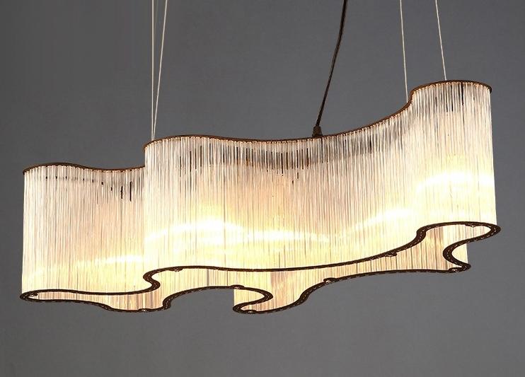 ANC-Modern Chandeliers   Hotel Engineering Glass Pendant Chandelier-3