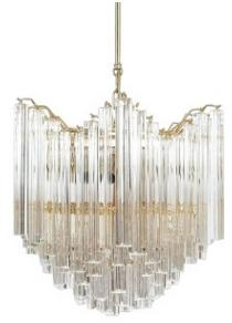 Postmodern crystal refreshing chandelier model room villa chandelier personality restaurant designer lamp