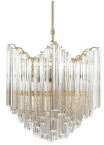 Postmodern crystal refreshing chandelier model room villa chandelier personality restaurant designer lamp