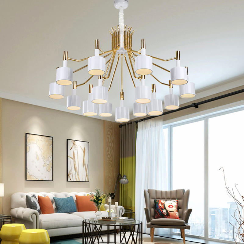 G4 Creative Acrylic Decoration Pendant Light for Living Room Hallway Coffee Shop Hanging Light