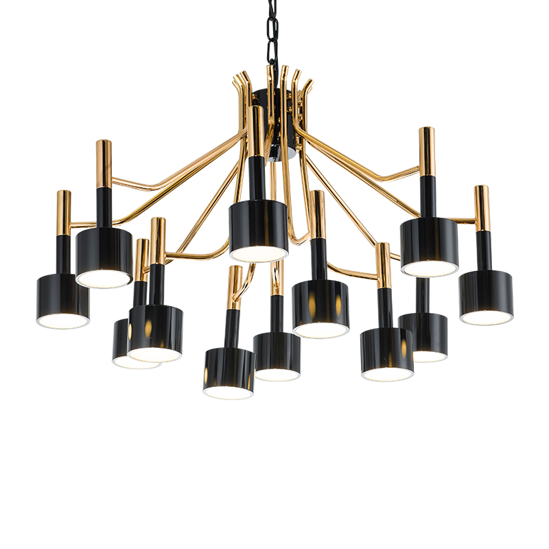 ANC-Rectangular Chandelier Dining Room Manufacturer, Custom Made Chandeliers | Anc